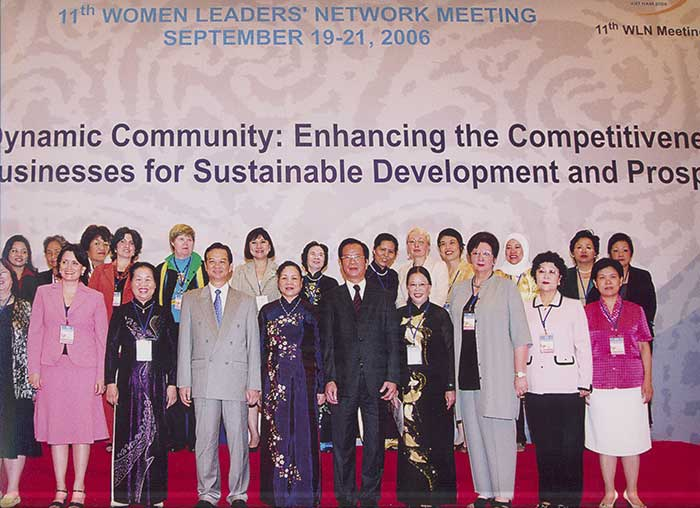 APEC Women Leaders Network Meeting In Hanoi, 2006