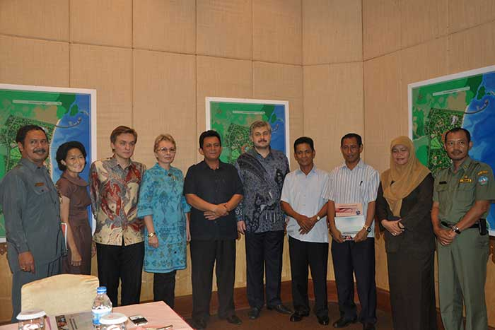 Meeting With Administration Of Bintan Island, Indonesia