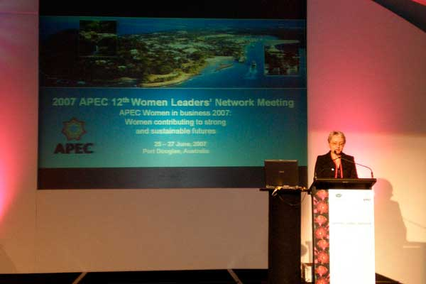 APEC Women Leaders Network Meeting In Australia, 2007