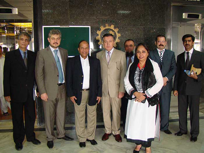 Mr Oleg Gorbulin, Meeting In Pakistan