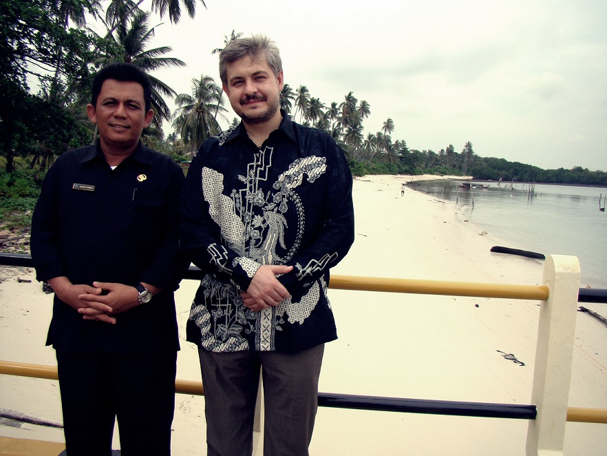 With The Mayor Of Bintan, Surveying Berakit