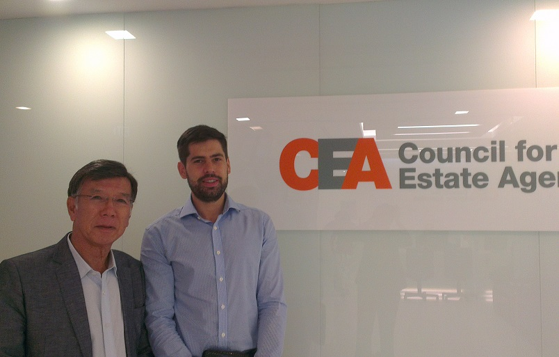 Meeting At Council For Estate Agencies, Singapore