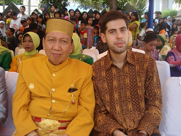 Sergey Artemov Attends Official Ceremony In Bantaeng Regency, South Sulawesi