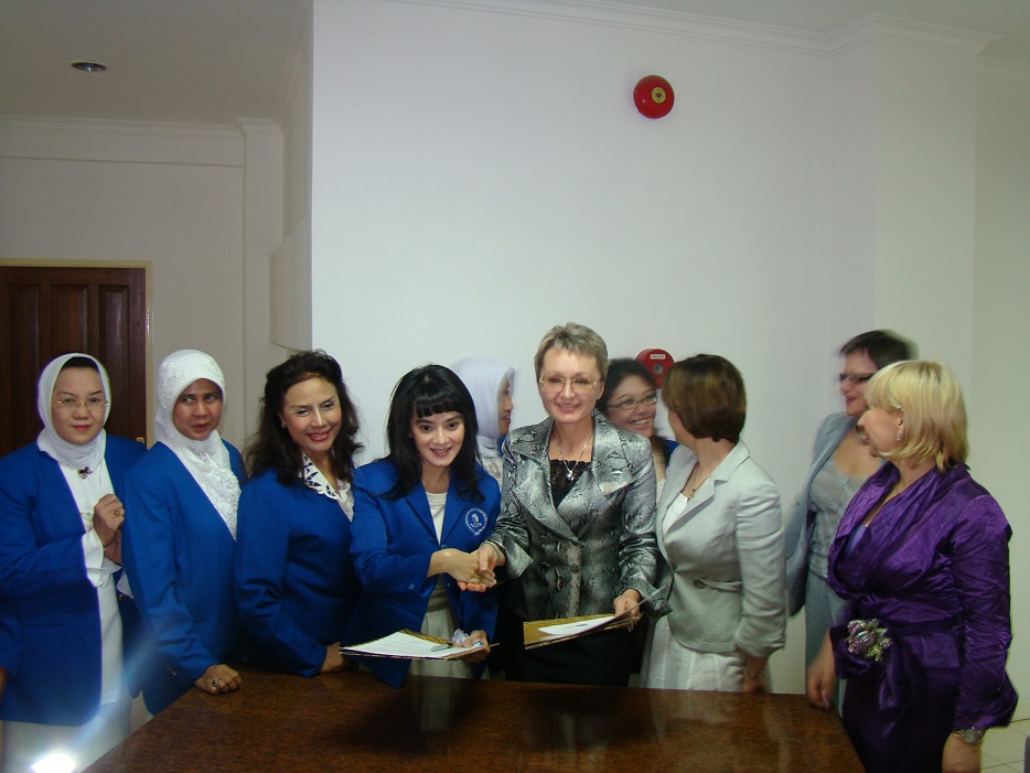 Indonesia Business's Women Association (IWAPI), Signing Of An Agreement