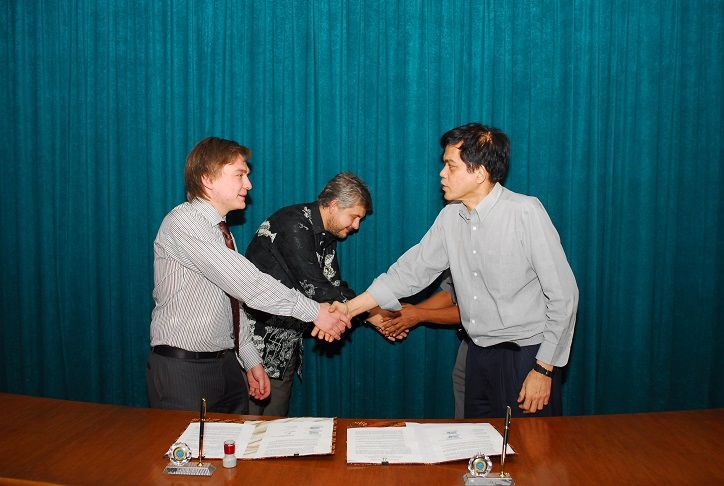 Signing Of An Agreement With BIFZA In Batam