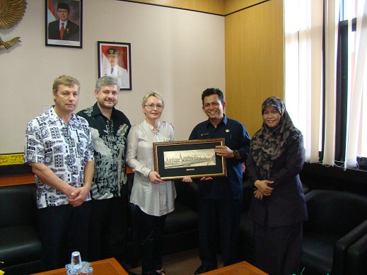 Meeting With Mayor Of Bintan, Bpk. Ansar Ahmad