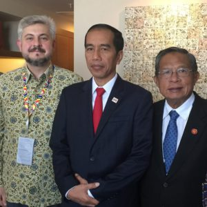 Alpha Pacific Group Meets With Indonesian President Mr Joko Widodo