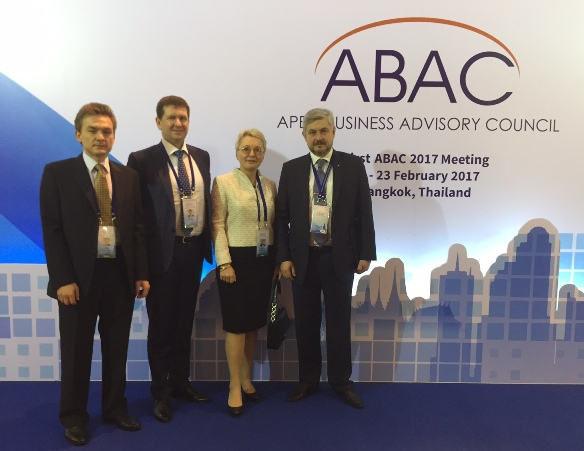 Senior Partners Of Alpha Pacific Group Attend The 1st ABAC 2017 Meeting In Bangkok