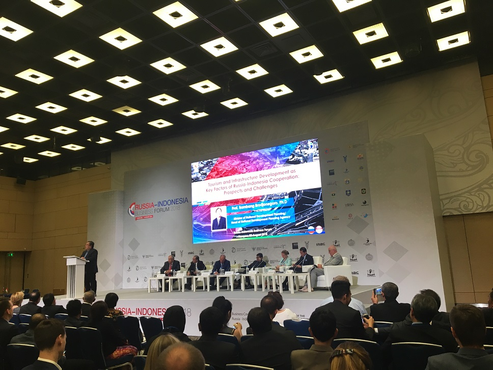2nd Russia-Indonesia Business Forum 2018